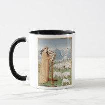 Virgil Writing in a Field of Sheep and Goats Mug
