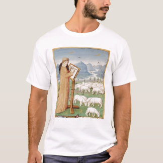 Virgil Writing in a Field of Sheep and Goats T-Shirt