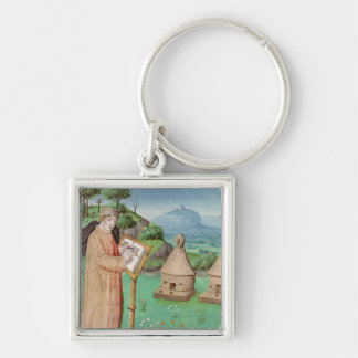 Virgil  writing the Life of Bees Keychain
