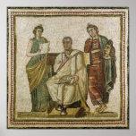 Virgil y las musas, de Sousse Póster