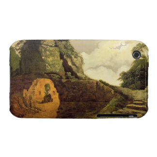Virgil's Tomb by Moonlight with Silius Italicus, 1 iPhone 3 Case-Mate Cases
