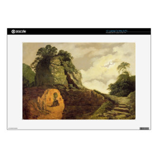 Virgil's Tomb by Moonlight with Silius Italicus, 1 Decals For Laptops