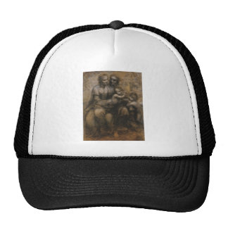 Virgin and by Leonardo da Vinci c. 1499 Trucker Hat