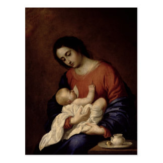 Virgin and Child 1658 Post Cards