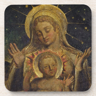 Virgin and Child, 1825 (tempera on panel) Drink Coaster