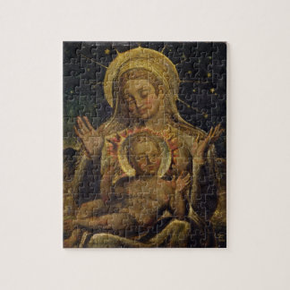 Virgin and Child, 1825 (tempera on panel) Puzzle