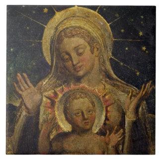 Virgin and Child, 1825 (tempera on panel) Ceramic Tiles