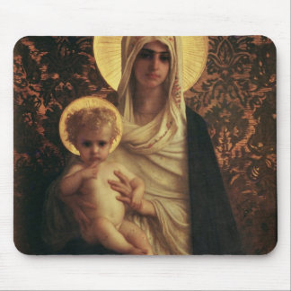 Virgin and Child, 1872 Mousepads