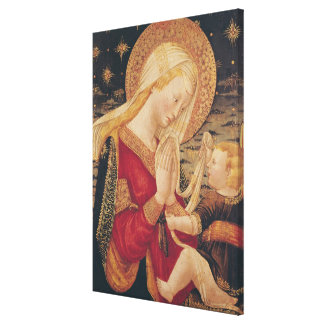 Virgin and Child 2 Canvas Print