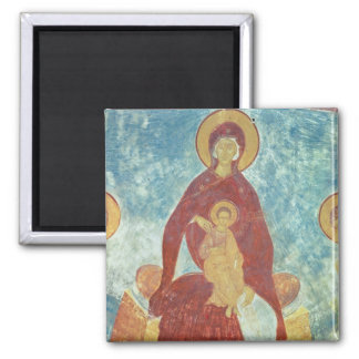 Virgin and Child 2 Inch Square Magnet
