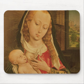 Virgin and Child 2 Mouse Pad