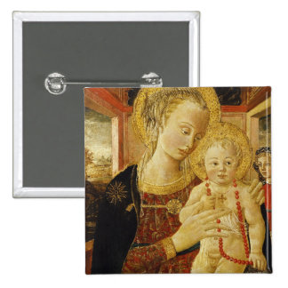 Virgin and Child 2 Pinback Button