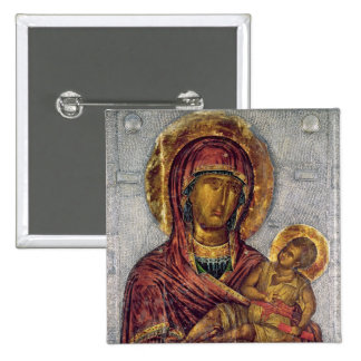 Virgin and Child 3 Pinback Button