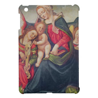 Virgin and Child and angel musicians iPad Mini Covers