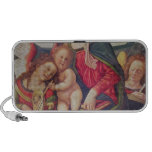 Virgin and Child and angel musicians PC Speakers