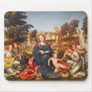 Virgin and Child and angels, 1536-38 Mouse Pad