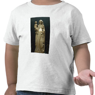 Virgin and Child, c.1375 (alabaster) Tees