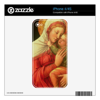 Virgin and Child, c.1465 (oil on panel) Skin For iPhone 4S