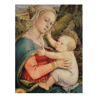 Virgin and Child, c.1465 Postcard