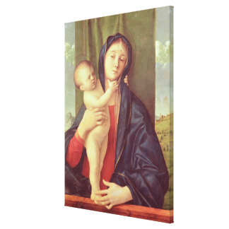 Virgin and Child, c.1487 Canvas Print