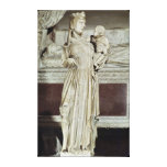 Virgin and Child Canvas Prints