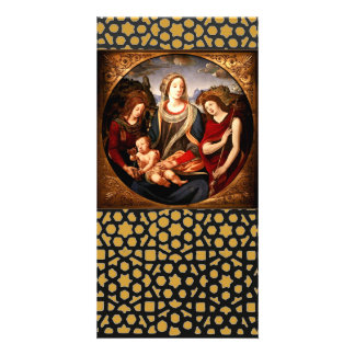 Virgin and Child Card