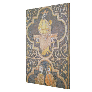 Virgin and Child, detail from the Clare Chasuble, Canvas Print