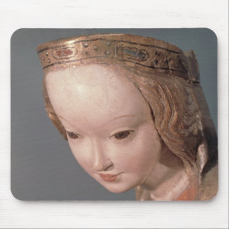 Virgin and Child, detail of the head of the Mouse Pad