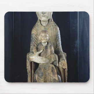 Virgin and Child in Majestd, from Forez Mouse Pad