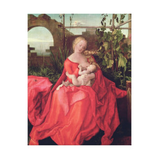 Virgin and Child 'Madonna with the Iris', 1508 Canvas Print