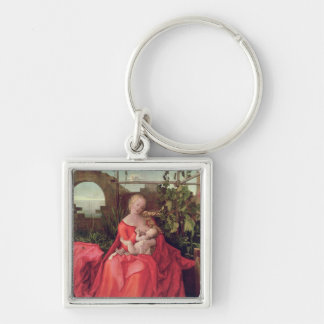 Virgin and Child 'Madonna with the Iris', 1508 Keychain