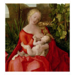 Virgin and Child 'Madonna with the Iris', 1508 Print