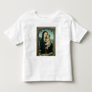 Virgin and Child (oil on panel) Toddler T-shirt