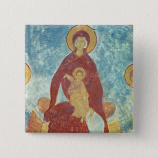 Virgin and Child Pinback Button