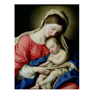 Virgin and Child Post Cards