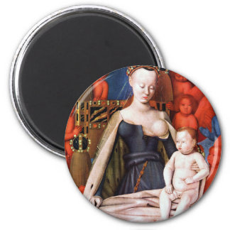 Virgin and Child surrounded by Angels - Fouquet Magnet