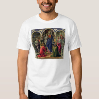Virgin and Child surrounded by Angels T Shirt