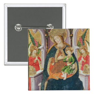 Virgin and Child with Angel Musicians Pins
