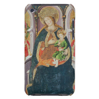 Virgin and Child with Angel Musicians iPod Touch Case-Mate Case