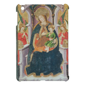 Virgin and Child with Angel Musicians iPad Mini Cases