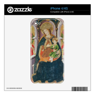 Virgin and Child with Angel Musicians Skin For The iPhone 4