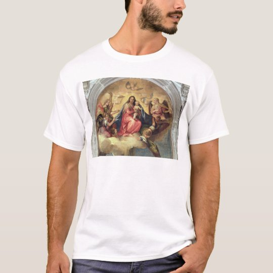 Virgin and Child with angel musicians T-Shirt