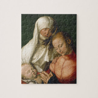 Virgin and Child with Saint Anne by Durer Jigsaw Puzzles