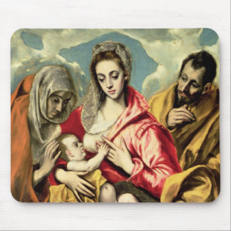 Virgin and Child with SS. Anne and Joseph Mouse Pad
