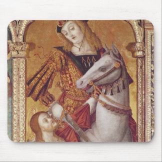 Virgin and Child with SS. Gregory and Martin Mouse Pad