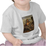 Virgin and Child with St. Anne and Lamb by Davinci T-shirt