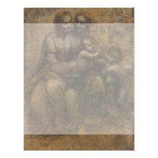Virgin and Child with St Anne by Leonardo da Vinci Flyer