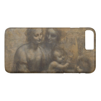 Virgin and Child with St Anne by Leonardo da Vinci iPhone 7 Plus Case