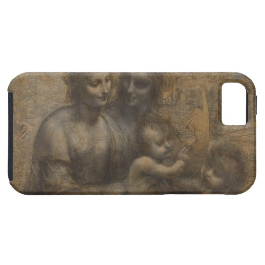 Virgin and Child with St Anne by Leonardo da Vinci iPhone SE/5/5s Case