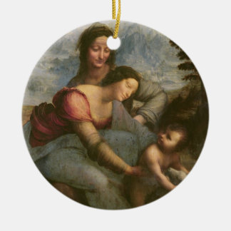 Virgin and Child with St. Anne, c.1510 Ceramic Ornament